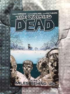 "The Walking Dead Volume 2 ""Miles Behind Us"""