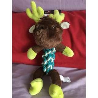 Rope Body Plush Toy - Moose