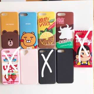 assorted iPhone 7 Plus / 8 plus 7+ 8+ phone cases