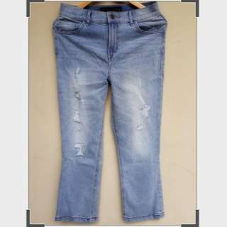 Express original ripped jeans new