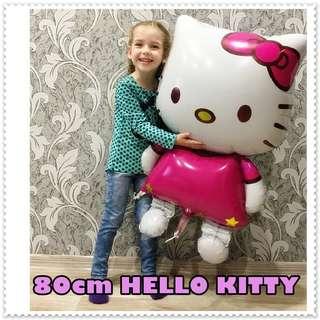 116CM / 80CM HELLO KITTY Foil Balloons