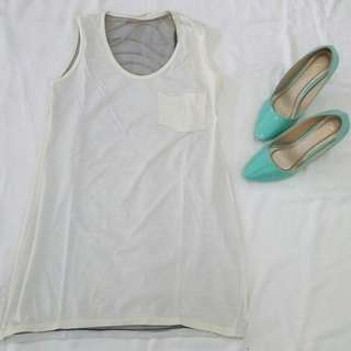 Back Cut Out Tank Top