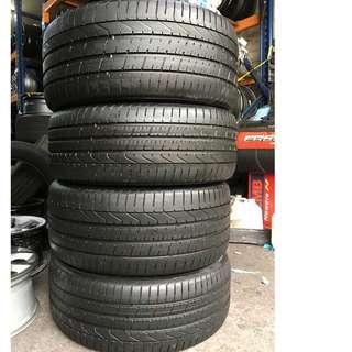Pre-Owned Pirelli PZERO Runflat* 245/40/20 , 275/35/20