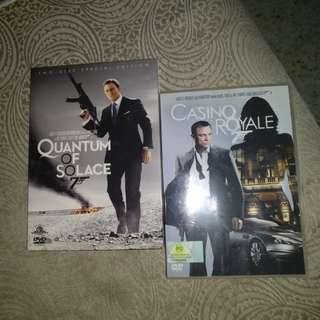 Dvds, 007 2in1, only for $5!