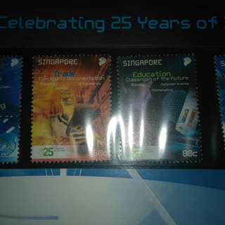25 years of inform limited edition stamp