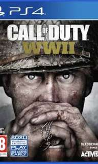Call of Duty W11 PS4