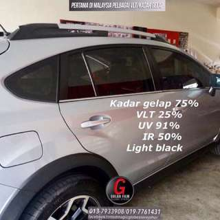 Tinted anti saman