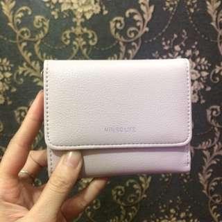 Miniso wallet (baru sekali pakai. 100% good condition)