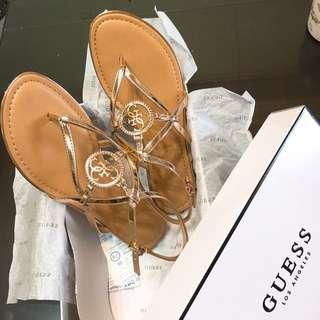 🚚 Guess新品香檳色涼鞋