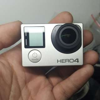 Hero 4 silver like new