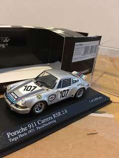 1/43 Porsche 911 Carerra RSR 2.8. 1973. Minichamps