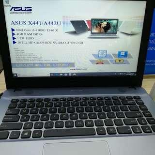 Laptop Asus A442U CicilTanpaKartuKredit Free 1 x Cicilan