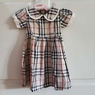 Dress Girl's Burberry London XXL (3-4Years)