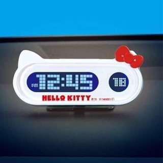 🚚 三麗鷗HELLO KITTY凱蒂貓頭型車用計時器