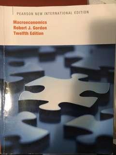 Macroeconomics, Pearson New International Edition (12 Edition) 9781292022079