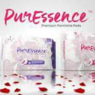 PureEssence Sanitary Pad with anion
