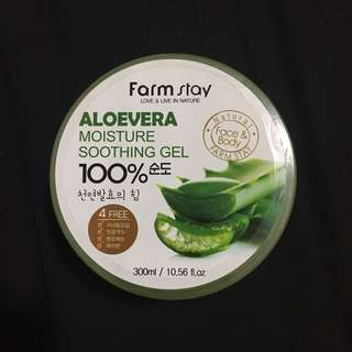 Farm Stay 100% Aloe Vera Gel