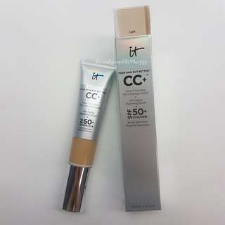 IT Cosmetics Your Skin But Better CC Cream shade Light