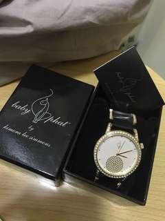 Baby phat 水晶手錶