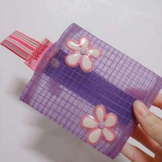 免費索取📣紫色微透明零錢包