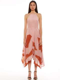 TALULAH | Torn Full Dress in Pink