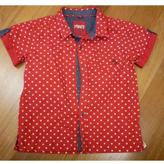 Poney boy's short sleeve shirt