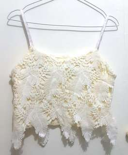 Angel top with lace