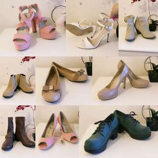 Lots of shoes for sale