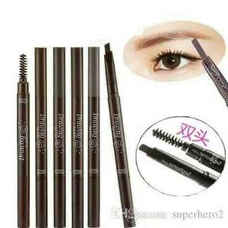 EYEBROW PENCIL WITH BRUSHHEAD