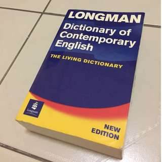 LONGMAN The Living Dictionary