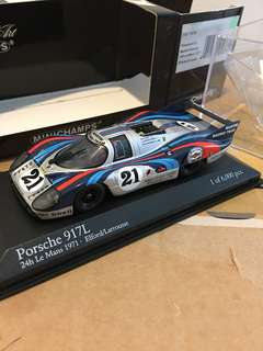 1/43 Porsche 917L. 24h Le Mans 1971. Minichamps