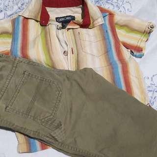 Pants and polo Cherokee