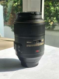 Nikon Lens AF-S 105mm 1:2.8G ED VR