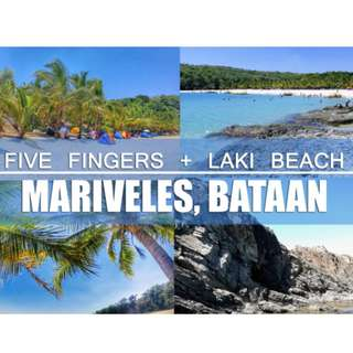 LAKI BEACH + 5 FINGERS BATAAN ( 2days 1night )