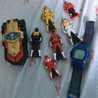 Gap watch and Power Ranger