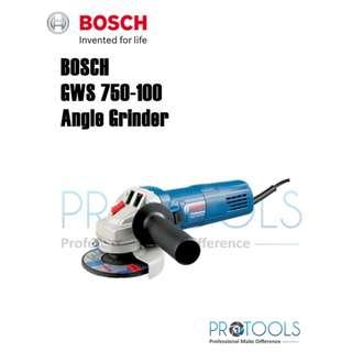 Bosch GWS750 4'' Angle Grinder (1 Year Warranty)