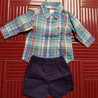 Carter's for baby boy size 3-6m