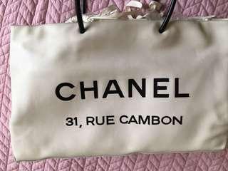 Chanel tote bag 有卡有花完美者匆買