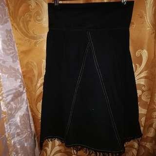 Denim Type Skirt