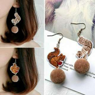 Anting pompom animals