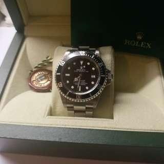 (Sold)勞力士Rolex 16600 sea-dweller F頭