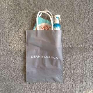 Dean & Deluca Vertical Gray Tote