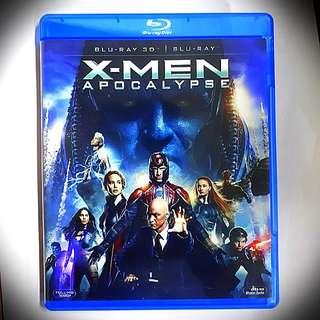 X-Men Apocalypse 3D Bluray + Bluray (imported)(very good condition)Region A