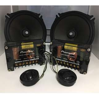 "Pioneer TS-D1720C 6¾"" Component Speakers"