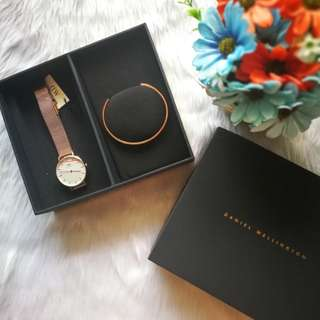 DANIEL WELLINGTON CLASSIC WATCH ROSE GOLD 32MM