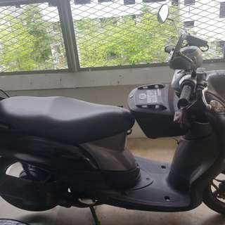 Yamaha Fino for sale. For coe renewal