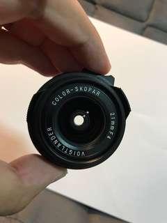 Voigtlander 21mm f4