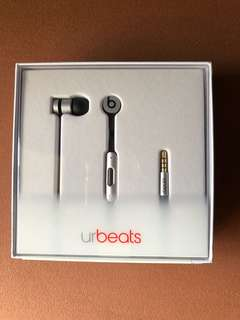 urBeats2 earphone space grey - special edition (brand new)