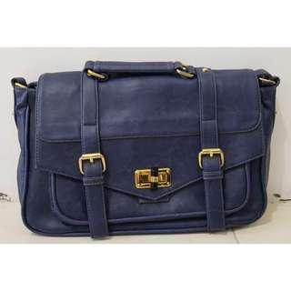 Blue Postman Bag