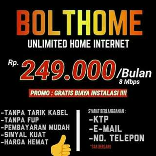 Bolt unlimited for home